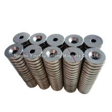 N33H Strong Neodymium Countersunk Magnets od25xid5x4 mm