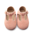 Leather Shoes Newborn T Bar Baby Dress Shoes