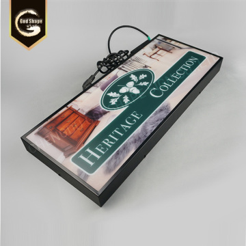 Restaurant Coffe Shop Advertising Display Light Boxes