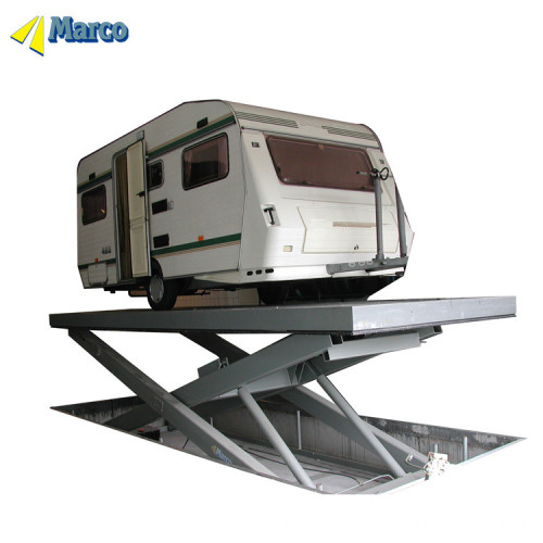 Low ceiling car lift