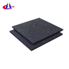 Home workout room rubber flooring