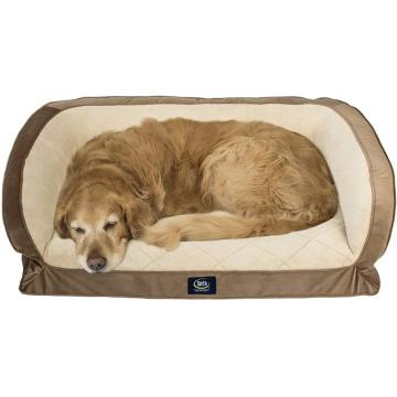 Comfity Gray Orthopedic Dog Bed