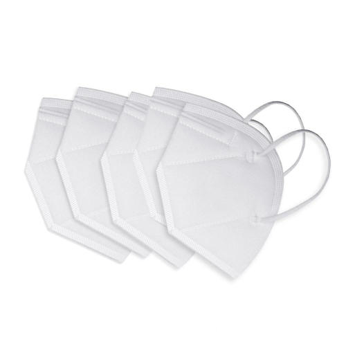 White Earloop Disposable Protective Face Masks KN95