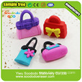3D Handbag Shaped Children Scented Fancy Erasers For Girls