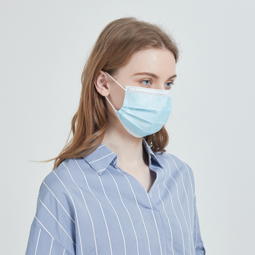 Disposable Nonwoven Disposable Face Mask for Self Use