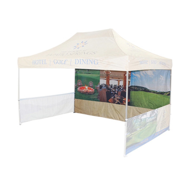 Promotional Straight Bracing Steel Outdoor Trade Show Folding Tent