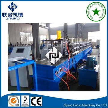 import oversea warehouse storage rack roll forming machine