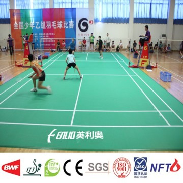 PVC indoor badminton flooring mat