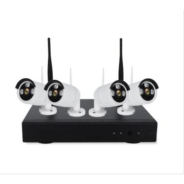 4 Channel WIFI NVR Kits 2MP