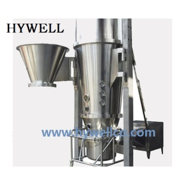New Design Fluid Bed Granulator Coater