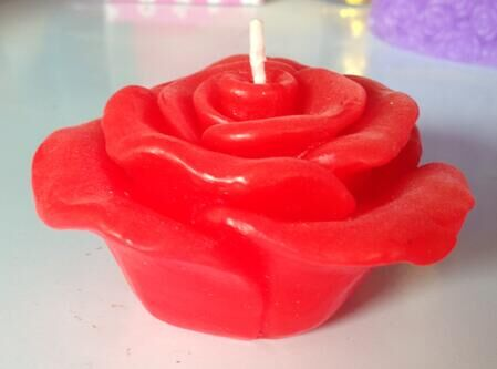 flower shape candles