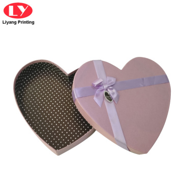 Көнүмүш Pink Heart Кагаз Chocolate Box Packaging