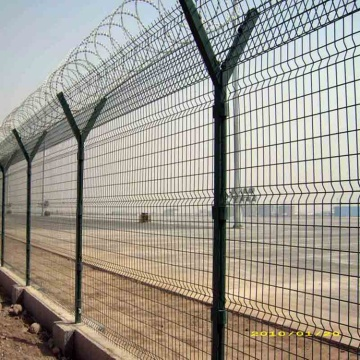 Top Razor Wire Airport Perimeter Fence