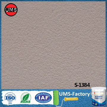 Stone effect interior masonry paint for walls