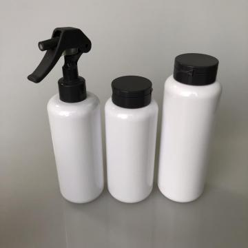 round PET bottle with flip cap 325ml
