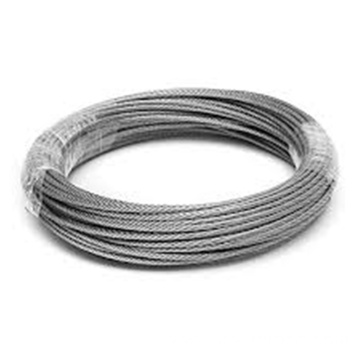 AISI 316 304 7X7 Stainless Steel Wire Rope