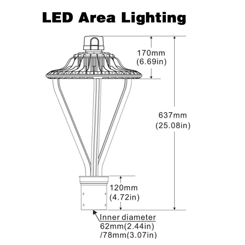 Led Lamp Post Light (7)