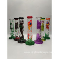 Mini beaker type glass water pipe bongs