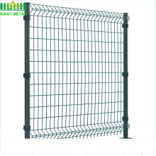 hot sale Galvanized PE coated 3D fence
