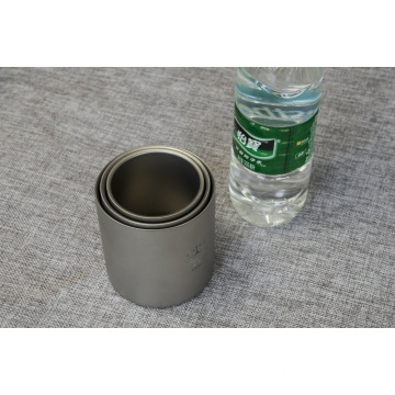Pure Titanium Water Cup Double Wall