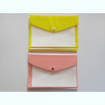 Pvc Material Multi-pocket button bag
