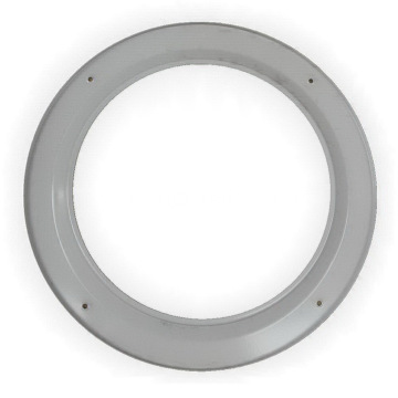 Metal Garage Round Firedoor Window Frame Vision Lite