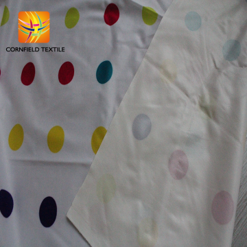 thin waterproof polyester print terry cloth baby