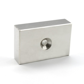Rectangular block rare earth neodymium magnet