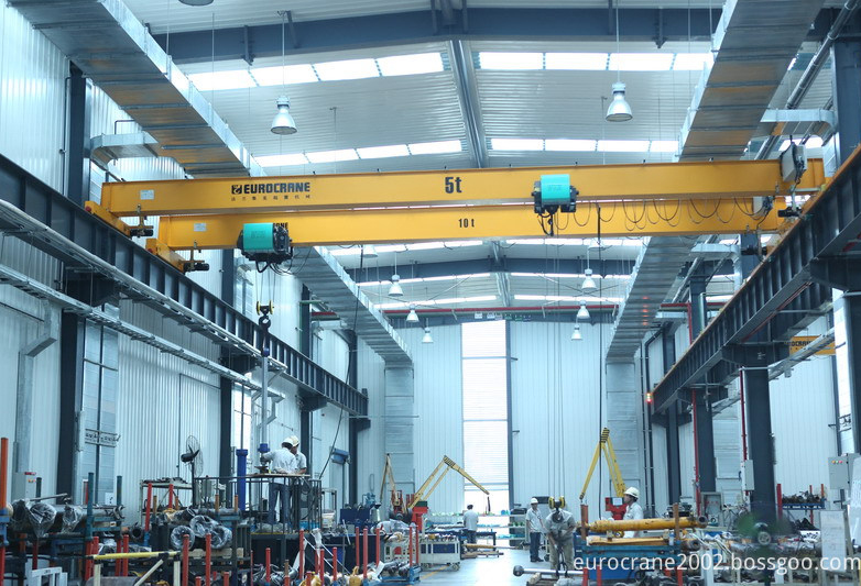 10t Electric double overhead crane