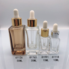 10ml 50ml cosmetic lotion essence bottle essence oil squarebottle