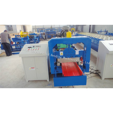Selflock Type Roof Tile Machine For Ghana
