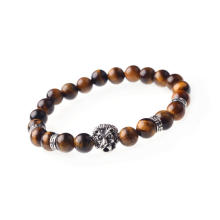 Beaded Bracelet Healing Stone Tiger's Eye Beads