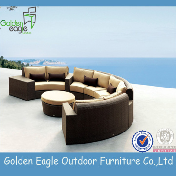 Luxury Hand-weaving rattan sofa outdoor furniture