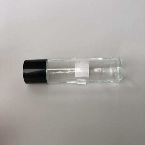 120ml clear round bottle with cap