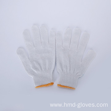safety cotton working gloves knitted cotton glove