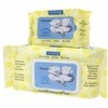 Hypoallergenic Soft Pack Flushable Baby Wipes