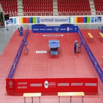 ENLIO table tennis floor/ table tennis sports flooring