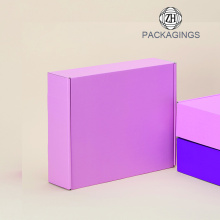 Custom design cardboard mailer box for clothing