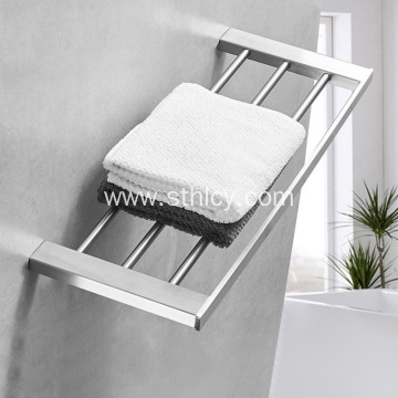 Stainless Steel Single Bathroom Towel Rack