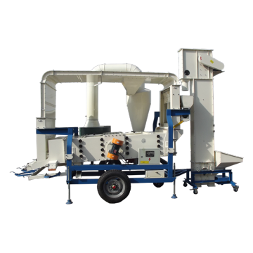 Mustard seed cleaning machine double cleaning system
