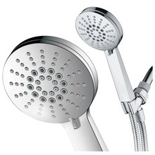 Sanyin abs plastic rainfall hand shower for bathroom