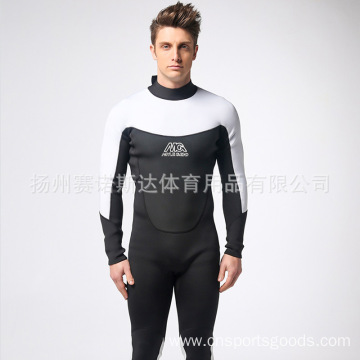 Long sleeve rubber diving suit
