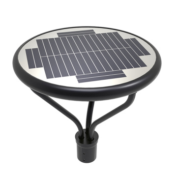 25W led solar post top 5000K 3750lm