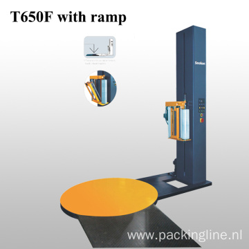 Standard Pallet Packing Machine With Ramp