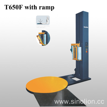 Standard Pallet Stretch Packing Machine With Ramp