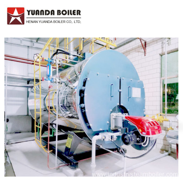 1 ton Diesel Oil Steam Boiler in Egypt