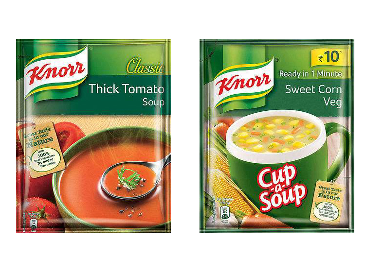 3 Sides Seal Pouches For Soup
