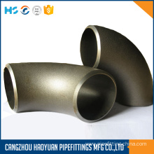 Black Iron Pipe Butt Welded Fittings Elbow