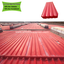 High Strength ECO Friendly Fire-protection MgO Roof Sheets