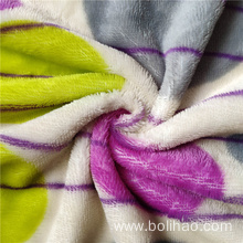 Smooth Soft Printed Flannel Fleece Fabric